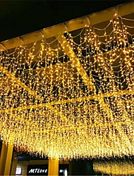 cheap -1pcs 3x1m LED Icicle String Lights 120 Leds Christmas Fairy Lights Garland Outdoor Home For WeddingPartyCurtainGarden Decoration