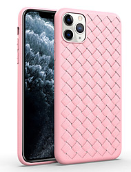 cheap -iPhone 11/11 Pro/11 Pro Max/XS/XR/XS Max/X/8/8 Plus/7/7 Plus/6/6S/6 Plus/6S Plus Phone Cover Woven Design Case