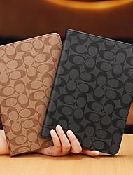 cheap -Case For Apple iPad Air / iPad 4/3/2 / iPad Mini 3/2/1 Shockproof / Dustproof / Ultra-thin Full Body Cases Geometric Pattern PU Leather / TPU