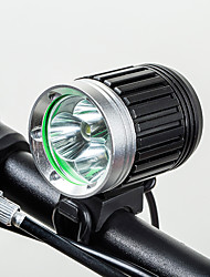 cheap -LED Bike Light Lighting Front Bike Light Bicycle Cycling Portable USB Charging Output Durable Rechargeable Battery Lithium Battery 500 lm Rechargeble Battery Built-in power supply White Cycling / Bike