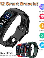 cheap -Couple's Smartwatch Digital 30 m Water Resistant / Waterproof Smart Sleep Mode Digital Casual - Black Green Red One Year Battery Life