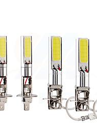 Недорогие -Автомобиль h1 h3 светодиодные противотуманные фары автомобиль противотуманные фары высокой мощности лампы 24 смд авто автомобиль светодиодные лампы автомобильный свет 12 В белый