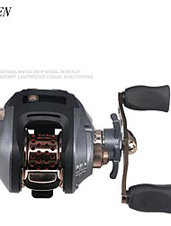 cheap -Fishing Reel Baitcasting Reel 6.91 Gear Ratio+10 Ball Bearings Right-handed / Left-handed Fly Fishing / Ice Fishing / Spinning