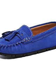 abordables -Garçon Moccasin / Chaussures de Demoiselle d'Honneur Fille Cuir Mocassins et Chaussons+D6148 Enfant en bas âge (9m-4ys) / Petits enfants (4-7 ans) Noir / Orange / Vert Printemps / Automne