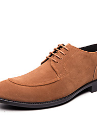 cheap -Men's Formal Shoes Synthetics Spring / Fall & Winter Casual / British Oxfords Non-slipping Black / Brown / Gray