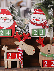 cheap -Costume Accessories Wooden 1 Piece Christmas