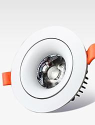 Недорогие -Светодиодные интегральные линзы удара потолка цилиндровый свет 18 Вт мебель для дома торговый центр отель вилла посвященный прожектор цилиндрический свет