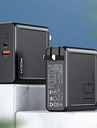 abordables -10000 mah rock pour banque de puissance batterie externe 5 v pour 3 a pour chargeur de batterie qc 3.0 led