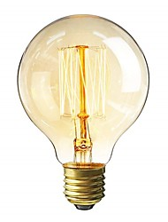 cheap -1pc 40 W E26 / E27 G80 Warm Yellow 2200 k Incandescent Vintage Edison Light Bulb 220-240 V