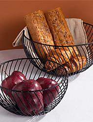 abordables -panier de rangement créatif panier de fruits nouveau style nordique simple maison salon ménage collation stockage bol cuisine vidange panier