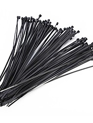 cheap -100Pcs Nylon Cable Self-locking Plastic Wire Zip Ties Set  Industrial Supply Fasteners Hardware Cable