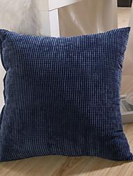 cheap -Set of 1 Velvet Pillow Cover & Insert, Solid Colored Modern Throw Pillow
