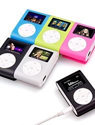 Недорогие -Hodieng mp3-плеер мини музыкальный медиа-проигрыватель портативный жк-экран поддержка usb micro sd tf карта walkman lettore d30