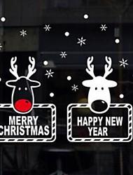cheap -Christmas Ornaments PVC Mini Cartoon Christmas Decoration