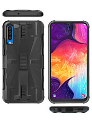 cheap -Case For Samsung Galaxy Galaxy A10(2019) / Galaxy A30(2019) / Galaxy A50(2019) Shockproof Back Cover Solid Colored TPU / Plastic