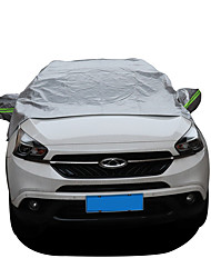 cheap -Windshield Snow Cover with Mirror Covers  Anti-UV Waterproof Against Sun Heat Wind Dust Front Sunshade Universal Car Windscreen CoverIce Removal Visor Protector Fits Most of SUV MPV Truck Vans