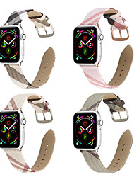 cheap -Watch Band for Apple Watch Series 5 Apple Watch Series 6 SE 5 4 3 2 1  Apple Watch Series 4 Apple Leather Loop Genuine Leather Wrist Strap