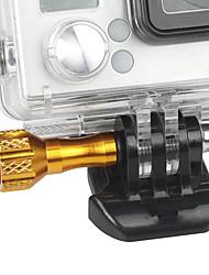 cheap -golden aluminum mini screw for gopro 3 plus 3