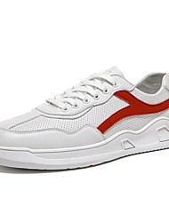cheap -Men's Comfort Shoes Synthetics Spring Athletic Shoes Running Shoes White / Yellow