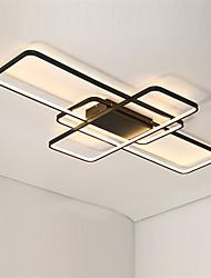 cheap -3-Light 80 cm Flush Mount Lights Aluminum Silica gel Geometrical Painted Finishes LED Modern 110-120V 220-240V