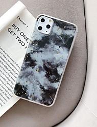 Недорогие -Кейс для Назначение Apple iPhone 11 / iPhone 11 Pro / iPhone 11 Pro Max Защита от пыли / IMD / Ультратонкий Кейс на заднюю панель Градиент цвета / Цвет неба ТПУ