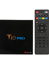 cheap -T10 PRO Smart Android 8.1 TV Box Cortex-A53 S905X2 Quad-core UHD 4K VP9 H.265 Dual-band Wi-Fi Bluetooth4.1 HD Media Player LED Display Screen Video Player