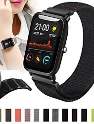 cheap -Watch Band for Amazfit  GTR  42mm / Amazfit Bip Lite / Amazfit GTS Amazfit Sport Band Nylon Wrist Strap