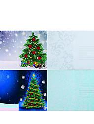 cheap -1 pc DIY Diamond Painting Christmas Card