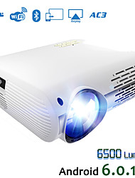 cheap -HODIENG HDG M2 Video Projector For Full HD 4K*2K Home Cinema Projector With 5G WIFI Android 6.0 OS 6500 Lumens Proyector