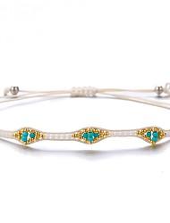 cheap -Women's Friendship Bracelet Classic Weave Sweet Fashion Nylon Bracelet Jewelry White For Gift Daily Work