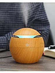 abordables -maison aromathérapie machine en forme de champignon humidificateur rond bois grain humidificateur