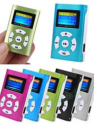 Недорогие -hodieng hifi usb мини mp3 музыкальный плеер поддержка lcd экрана 32 ГБ micro sd tf карта спорт мода новый стиль аккумуляторная