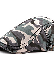 cheap -Men's Basic Polyester Beret Hat-Galaxy Fall Army Green Blue Red