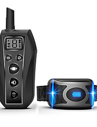 cheap -Dog Training Anti Bark Collar Shock Collar Adjustable Length Remote Controlled Sound Dog Waterproof Adjustable / Retractable Automatic Resin Nylon ABS+PC Clickers Behaviour Aids Obedience Training