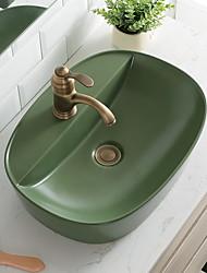 cheap -Bathroom Sink Contemporary - Glass Round Vessel Sink