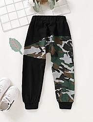 cheap -Baby Boys' Active / Basic Print Pants Army Green