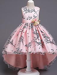 cheap -Kids Little Girls' Dress Geometric Blushing Pink Dresses