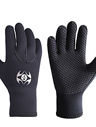 cheap -SLINX Diving Gloves Aquatic Gloves 3mm Neoprene Full Finger Gloves Thermal Warm Warm Quick Dry Swimming Diving Surfing / Breathable