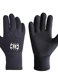 cheap -SLINX Diving Gloves 3mm Neoprene Full Finger Gloves Breathable Warm Wearable Diving Surfing Snorkeling