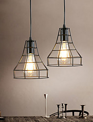 cheap -1-Light 17 cm Mini Style Pendant Light Hemp Rope Painted Finishes Traditional / Classic / Nordic Style 220-240V