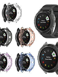 cheap -Soft Crystal Clear TPU Protector Case Cover For Garmin Fenix 6X Pro Smart Watch Protective Accessories
