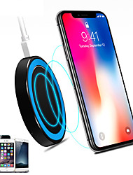 cheap -Universal Small Thin Round Wireless Charger For QI Standard Mobiles Wireless Charging