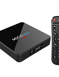 cheap -MX10 PRO Android 8.1 TV Box 4GB / 32GB RK3328 / VP9 / H.265 / HDR10 / USB3.0 /  DLNA / Miracast / Airplay / 2.4G / 5G Dual WiFi Media Player