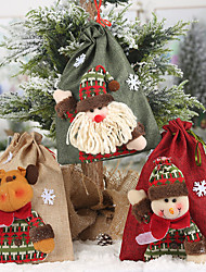 cheap -Favor Bags Cloth 1 Piece Christmas