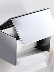 cheap -Bathroom Toilet Tissue Box Stainless Steel Tray Carton Hotel Roll Tray Paper Towel Holder