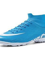 abordables -Homme Semelles légères Polyuréthane Automne hiver Sportif Chaussures d'Athlétisme Football Respirable Noir / Blanche / Bleu