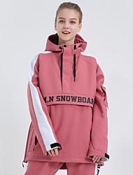 cheap -GSOU SNOW Men's Women's Ski Jacket Skiing Camping / Hiking Winter Sports Waterproof Windproof Warm Polyster Tracksuit Warm Top Ski Wear