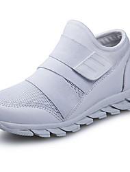 abordables -Garçon Confort Maille Chaussures d'Athlétisme Grands enfants (7 ans et +) Noir / Blanche / Bleu de minuit Automne