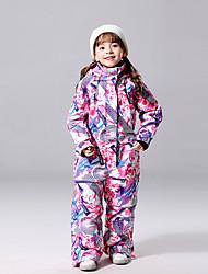 cheap -MUTUSNOW Girls' Ski Suit Skiing Snowboarding Winter Sports Waterproof Windproof Ski POLY Jacket Ski Wear / Kids
