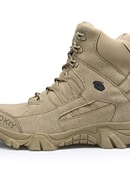 cheap -Men's Suede Shoes Suede Fall & Winter Boots Hiking Shoes Mid-Calf Boots Brown / Beige / Outdoor